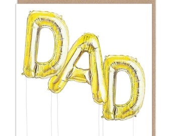 Dad - Helium Balloons