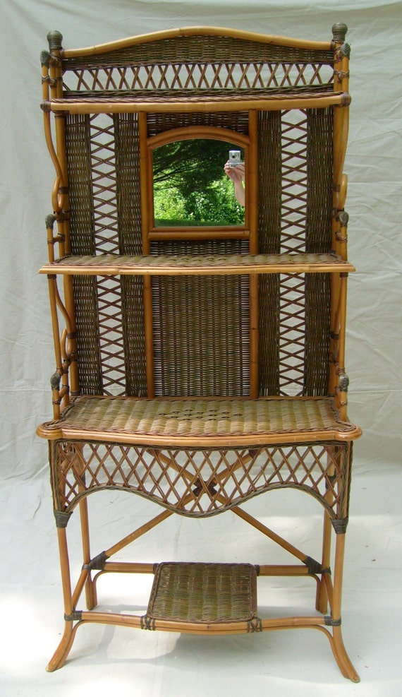 Wicker Etagere 28 Images Vintage Wicker Arched Etagere Chairish Wakefield Rattan Company