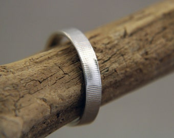 Silver Men's Ring, Sterling Silver Men's Band, Silver Man's ring