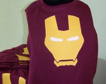 Ironman Superhero Cape, kids Ironman cape, Ironman costume, Marvel dress up, Boy's cape, Superhero cape