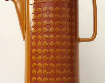 1970s Retro Hornsea Saffron Coffee Pot Vintage Tea Pot Vintage Home Decor Vintage Housewares