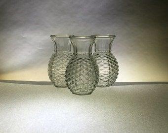 pineapple vase etsy. Black Bedroom Furniture Sets. Home Design Ideas