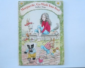 Wallace Tripp Marguerite Go Wash Your Feet Softcover Book