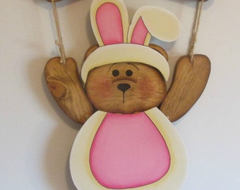 Welcome Bear Easter Bunny Suit