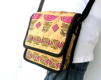 Crossbody Bag Messenger Bag Bohemian Bag Multicolor Boho Bag Handmade Everyday Bag Purse Hippie Hobo Bag Thai Gift bag