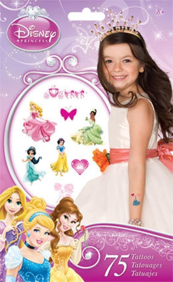 Disney princess temporary tattoos for Disney temporary tattoos