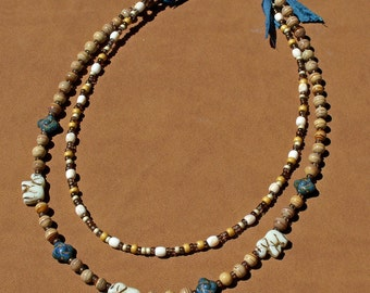 Necklace, Elephant Beads