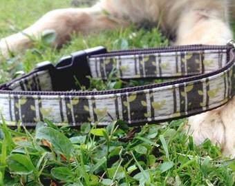 Birch Tree Dog Collar