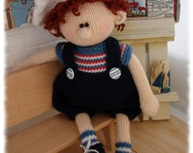 Knitting Pattern Boy Doll : Popular items for toy knitting pattern on Etsy