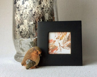 Framed abstract butterfly | small abstract painting | small butterfly art | framed mini canvas | mini abstract art | small abstract canvas