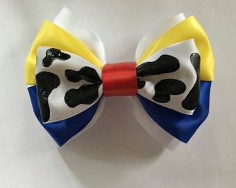 Inspired Toy Story Hair Bow / Woody Bow