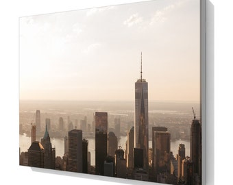 New York skyline Canvas print, wall art ca003