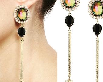 Celina disco earrings