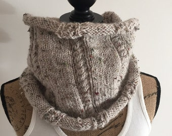 15% off with code WSALE15 - infinite wool tweed scarf