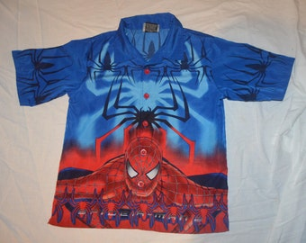 Boys / Childrens Spiderman Shirt - Size 6X