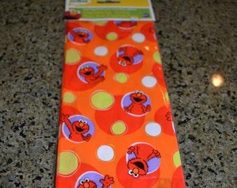 16 Elmo Inspired Cello Bags/Cello Bags/Candy Bags/Elmo Inspired Party Bags/Elmo Inspired Baby Shower Favor Bag/Favor Bag/Party Bag/