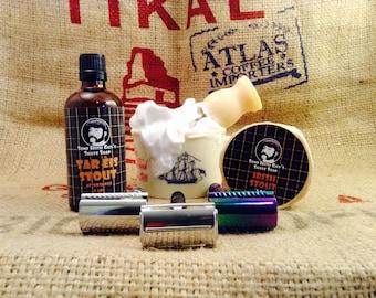 Some Irish Guys Shave Soap Shaving Set Kit Soap, Aftershave, Razor