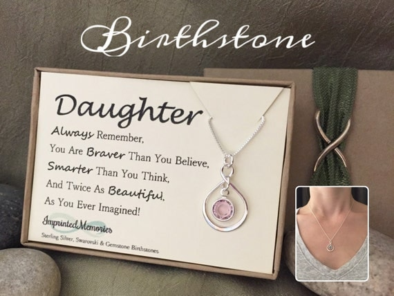 Birthday Gift For DAUGHTER Gift For Her By ImprintedMemories