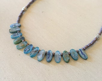 Ocean Kyanite Necklace