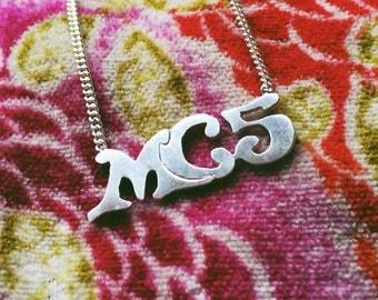 Ramblin' Rose MC5 Sterling necklace