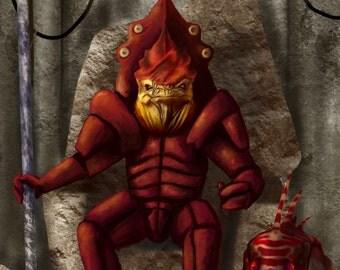 Mass Effect Tarot: The Emperor