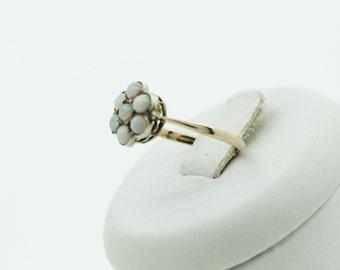 Opal cluster ring SKU695