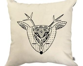 Throw Pillow Cover - Deer Me