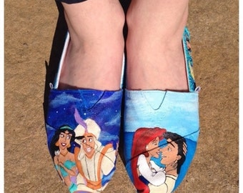 Custom hand painted TOMS. Any theme.