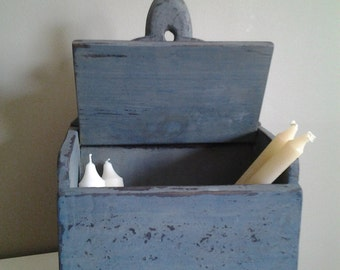 Primitive Candle Box