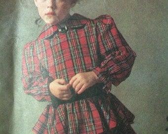 Rare Little Vogue Dress Pattern 2147