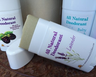 All Natural Deodorant Stick That Really Works - No Aluminum - Men's Deodorant - Women's Deodorant - Organic Solid Probiotic Deodorant  Stick