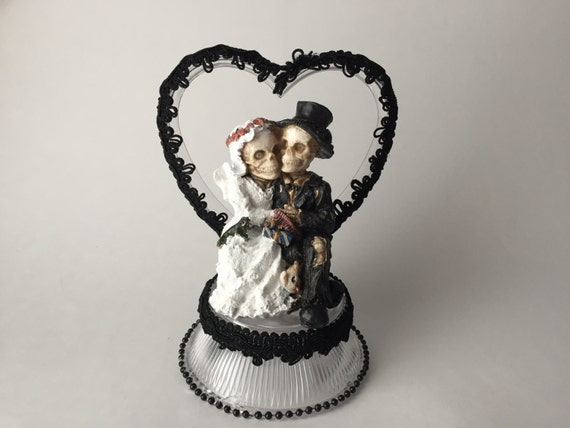 halloween wedding cake toppers wedding cake topper with black by 4674
