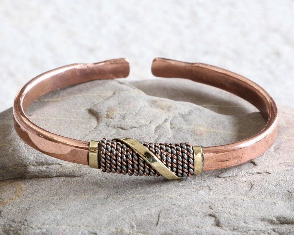 mens copper bracelet bangle copper bracelet mens copper. Black Bedroom Furniture Sets. Home Design Ideas