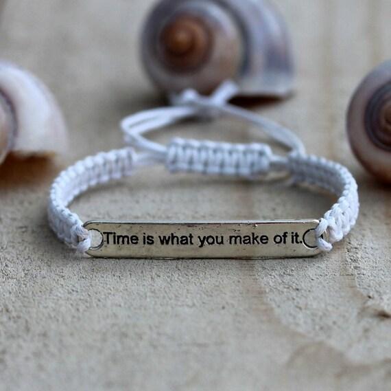Inspirational Charm Bracelets: Inspirational Quotes Bracelets Engraved Bracelet For Women