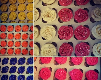 Standard Mini Cupcakes (2 Dozen)
