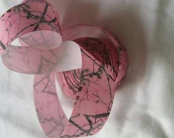 Realtree Grosgrain Ribbon GR027 I Grosgrain Ribbon   Grosgrain Bow Making Ribbon   Grosgrain Bow Ribbon  