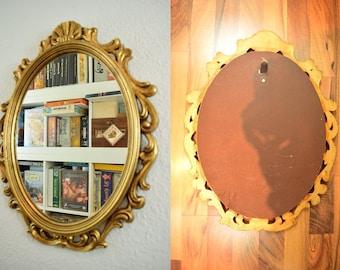 Vintage mirror / wall mirror / hall mirror   Baroque   Germany