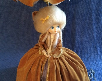 Vintage Victorian Doll Lamp/Bradley Doll Style Lamp