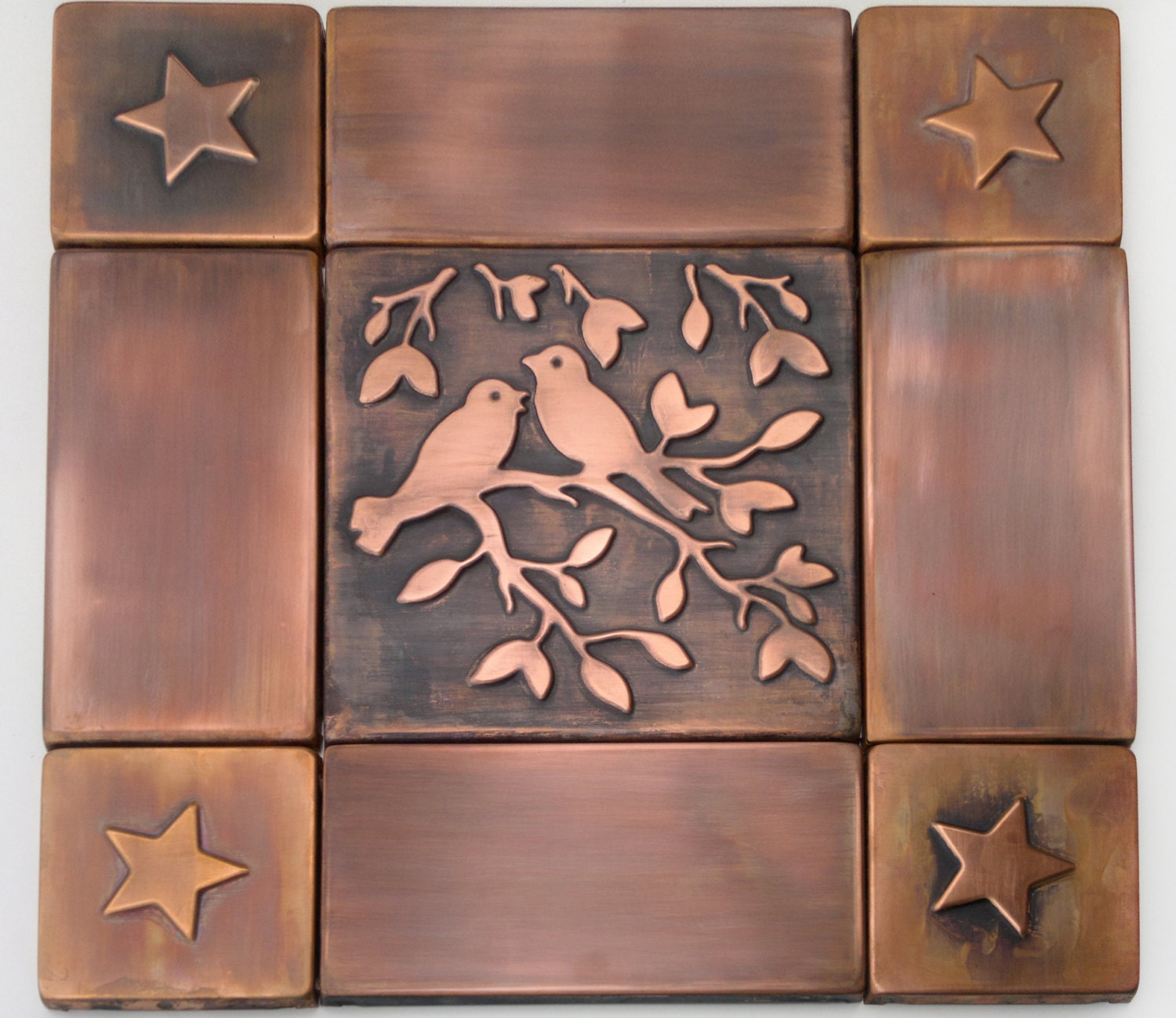 Decorative Tiles Copper Tile Metal Tiles Set Copper Tiles