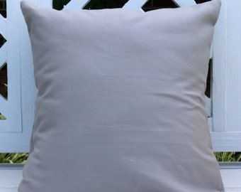 Gray 16 X 16 Pillow Cover