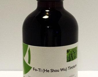 Fo-Ti (He Shou Wu) Tincture 4 oz Bottle Yin Tonic Fo-Ti-Tieng Large Size The Rural Apothecary