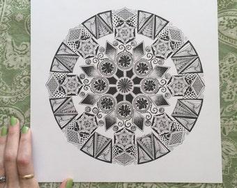 ORIGINAL - Perfection is a Myth Mandala