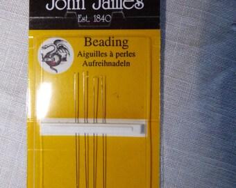 needles John James pearls fine n13