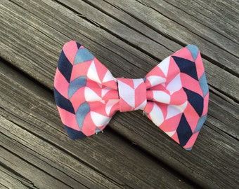 The Zipper Bow - Pink