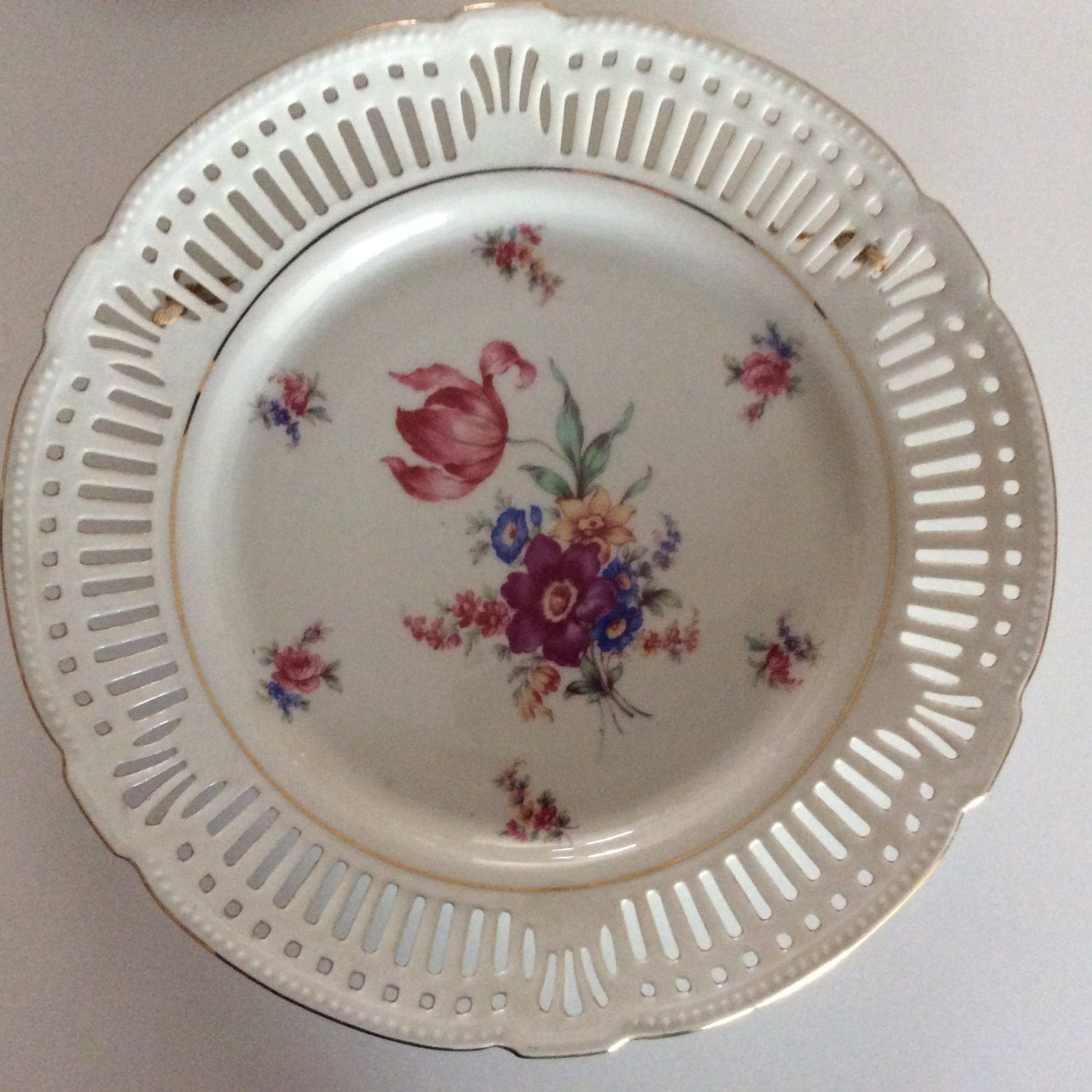 Vintage Germany Plate Antique Germany Plate by Trendsations