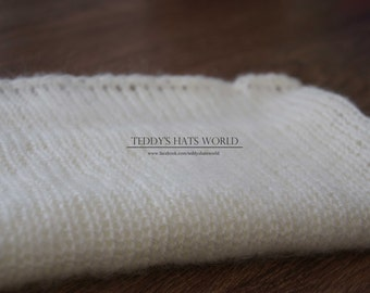 Knit stretch wrap Photography blanket Knit baby wrap Newborn wrap Mohair wrap Newborn photography prop, Wrap match the bunny and teddy bear