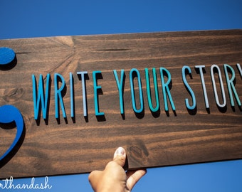 Write Your Story Wall Art