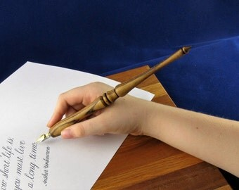 Items Similar To Handmade Calligraphy Nib Holder Wood