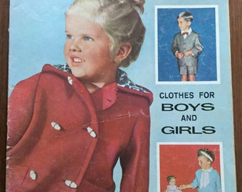 Enid Gilchrist Vintage Enid Gilchrist's Three to Six Clothes for Boys & Girls Patterns Magazine. Collectible.