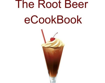 Root Beer Recipes Book PDF Instant Download Plus Free Recipe Cards